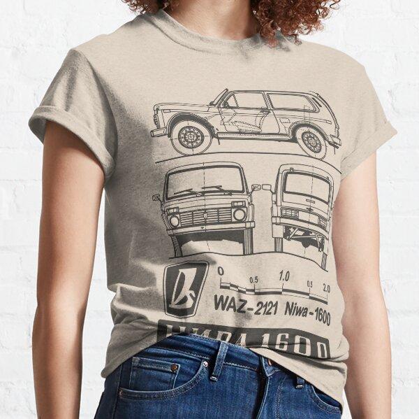 Lada Niva (dunkel) Classic T-Shirt