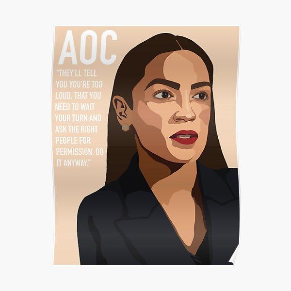 AOC! Poster