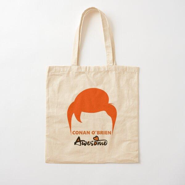 Conan O'Brien awesome Cotton Tote Bag