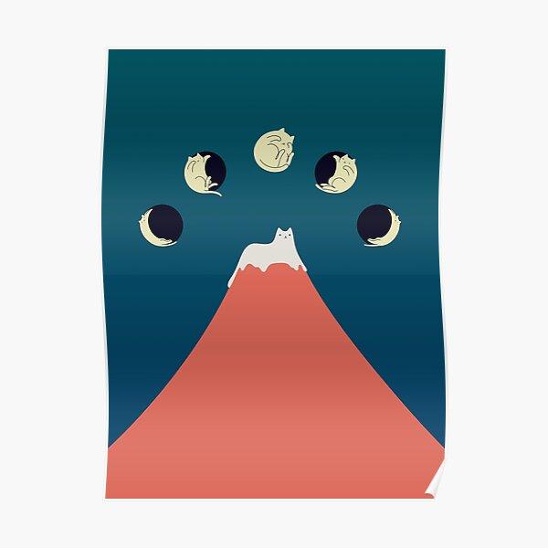 Cat Landscape 88 Poster