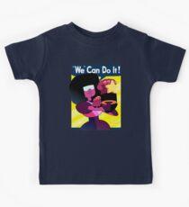 """""""We"""" Can Do it! // Garnet Steven Universe Poster Kids Tee"""