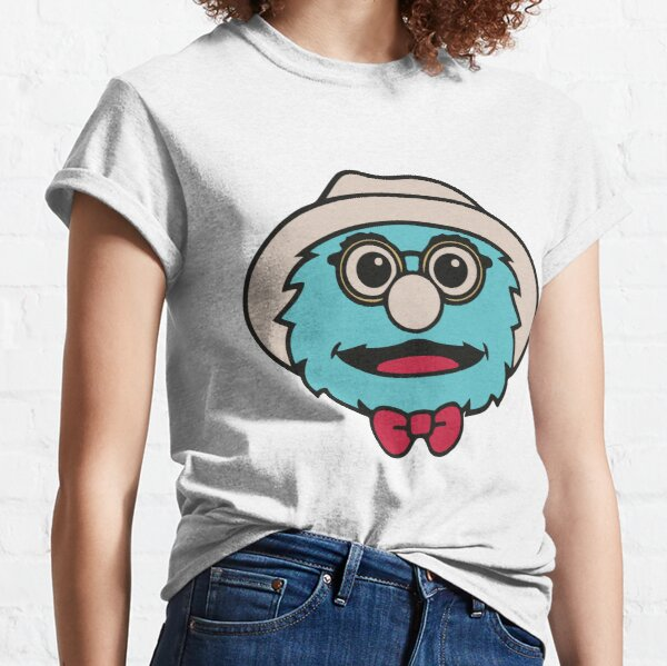 Puppet History The Professor Face Classic T-Shirt