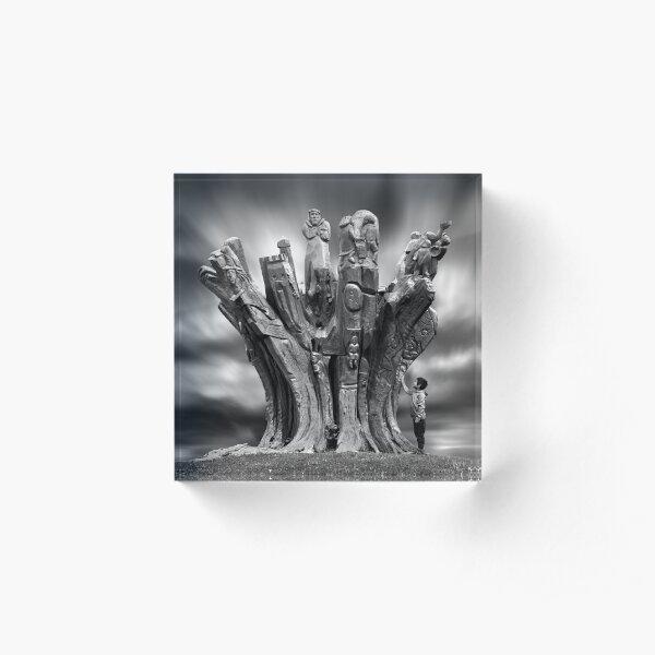 Roots Acrylic Block