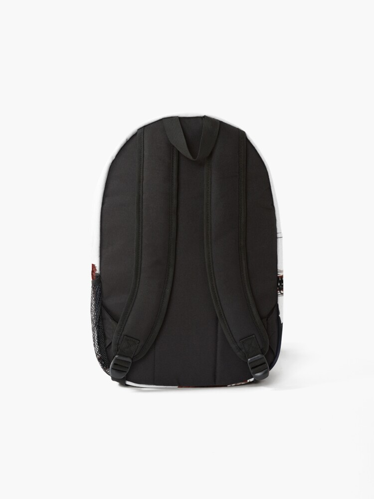 Alternate view of MHA Hawks The Hero with Style Backpack