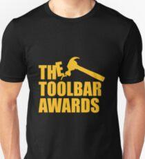 The Toolbar Awards Black Tee/Poster Unisex T-Shirt