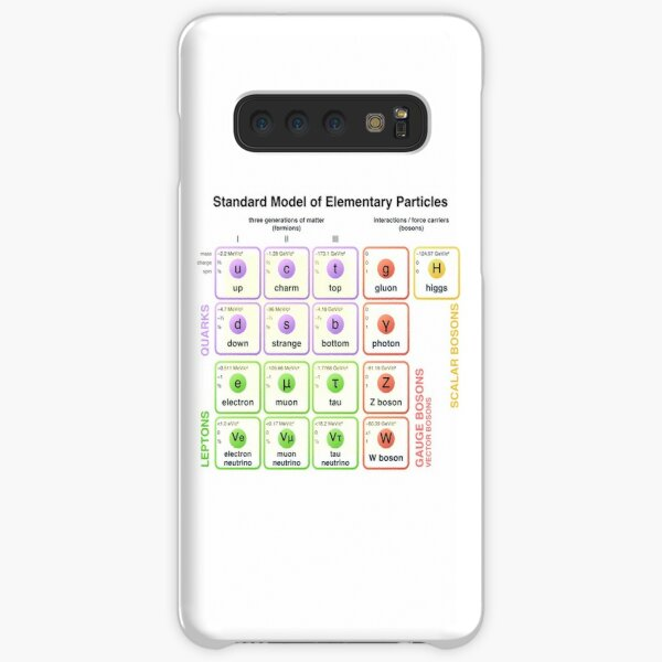Physics - Standard Model of Elementary Particles - Physicist Samsung Galaxy Snap Case