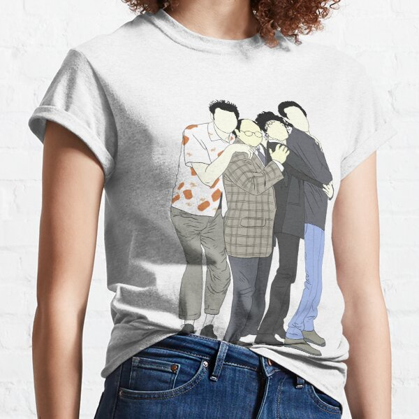 Jerry, George, Elaine, Kramer Classic T-Shirt