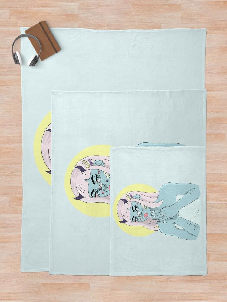 Alternate view of ANGEL/DEMON Throw Blanket