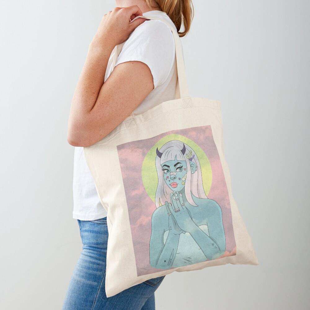 ANGEL/DEMON - SKY Tote Bag