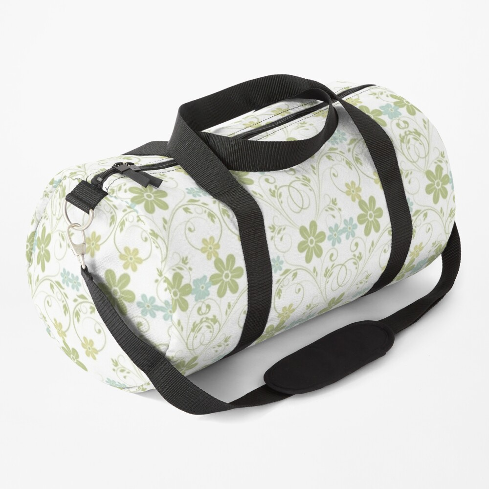 Products decorate with a recurring design Duffle Bag