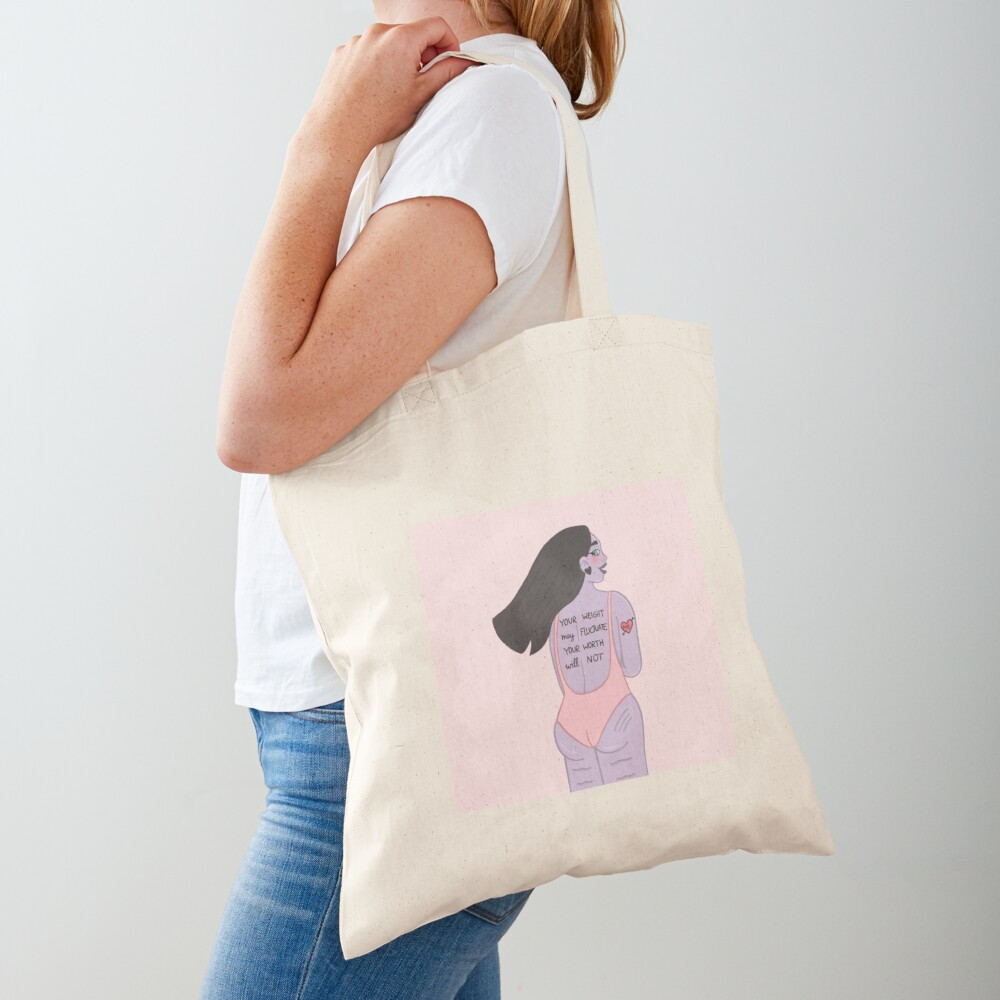 YOUR WORTH Tote Bag