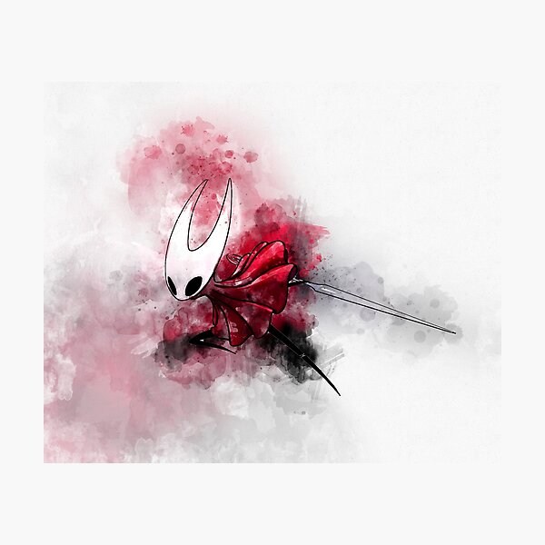 Hollow Knight Silksong - Hornet painting Photographic Print