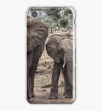 Tarangire Elephants 2 iPhone Case/Skin