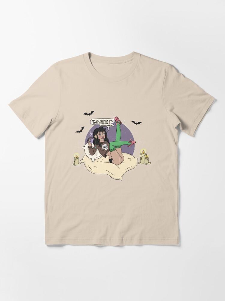 Alternate view of PUMPKIN SPICE BABE Essential T-Shirt