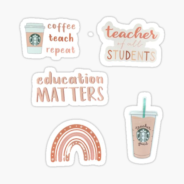 teacher sticker pack  Sticker