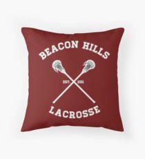 BEACON HILLS LACROSSE LOGO Throw Pillow