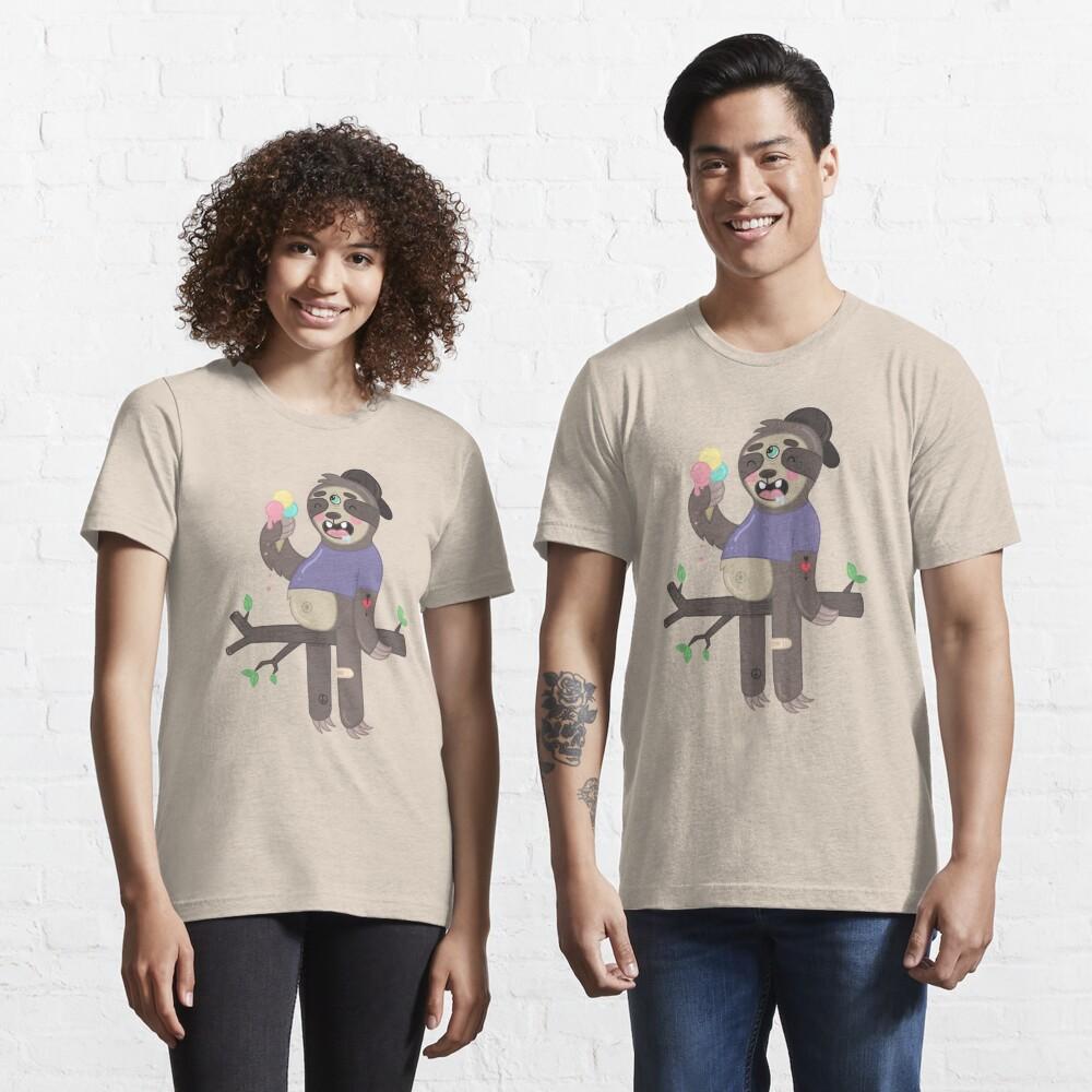 ICE-CREAM SLOTH Essential T-Shirt