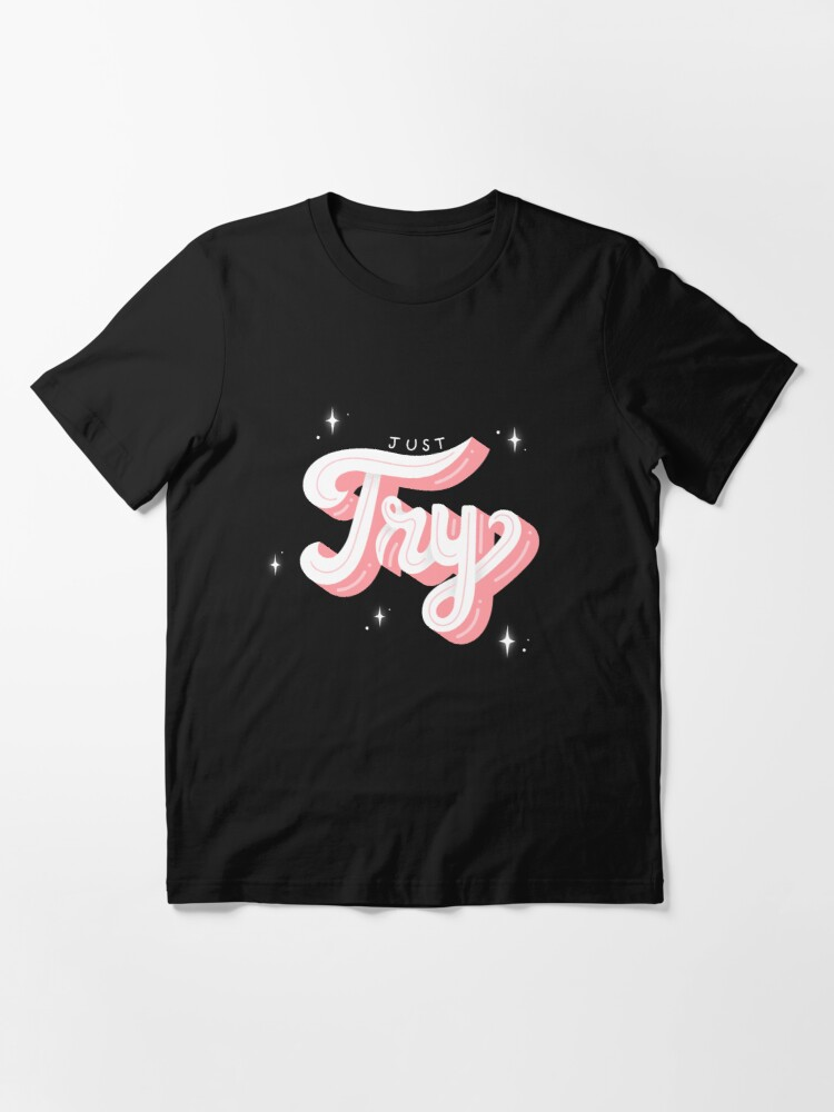 Alternate view of JUST TRY Essential T-Shirt