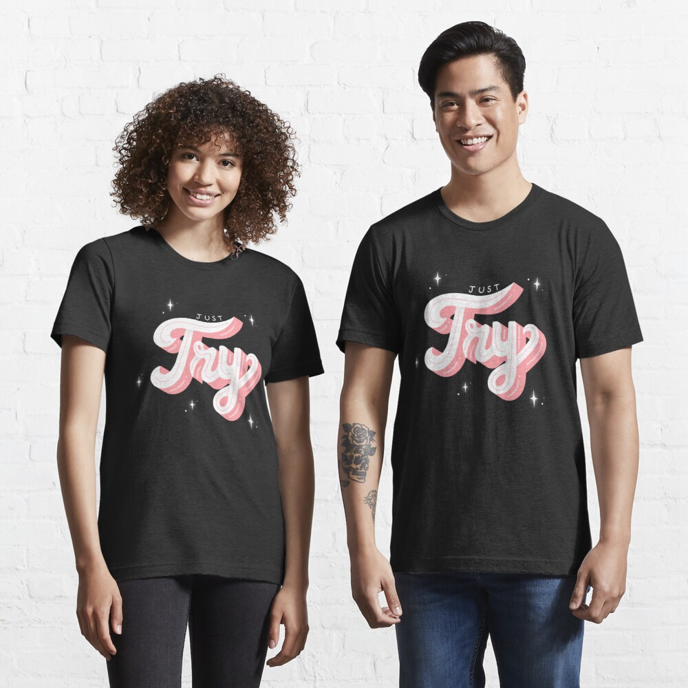 JUST TRY Essential T-Shirt