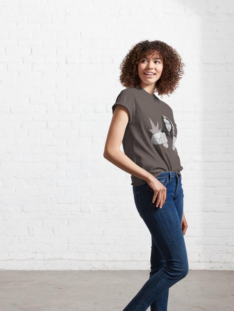 Alternate view of CLIFF BURTON/METALLIC Classic T-Shirt