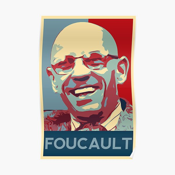 Michel Foucault poster Poster