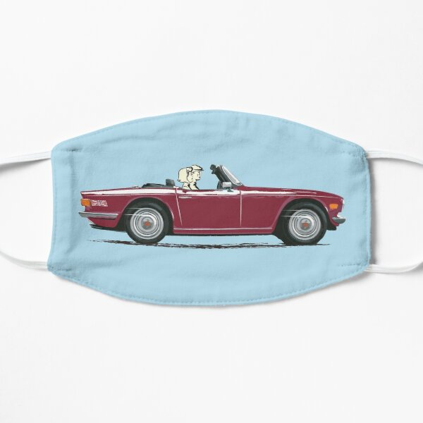 Damson Red color TR6 – the Classic British Sports Car Mask