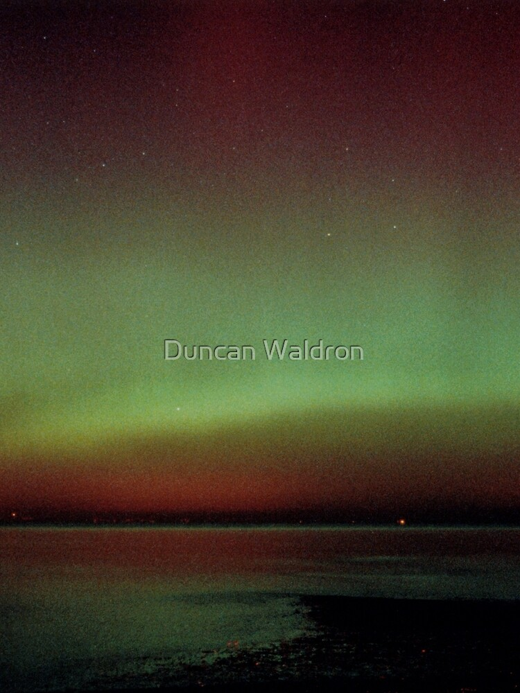 Aurora over Fife, from Musselburgh by DuncanW