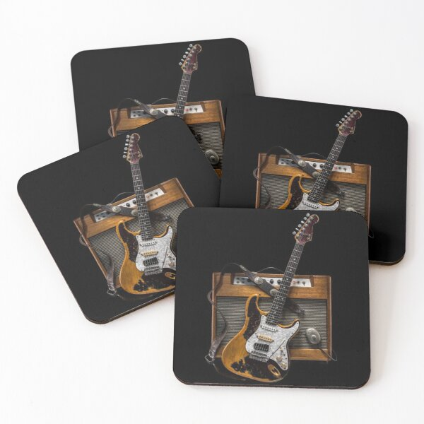 Stratocaster Coasters (Set of 4)