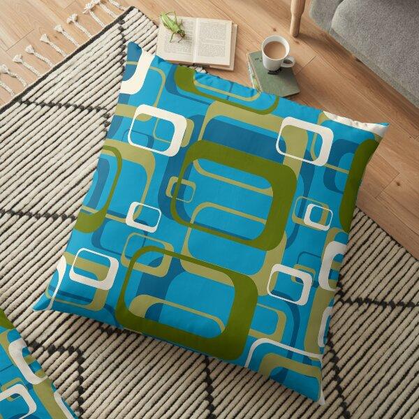 Ocean Retro Floor Pillow