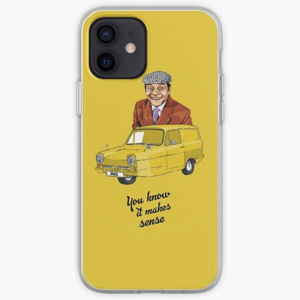 Only Fools And Horses - Del Boy - Trotters Trading t shirt - Del Boy t-shirt - Classic British Comedy Funda blanda para iPhone