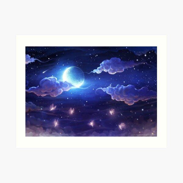 Moondance Art Print