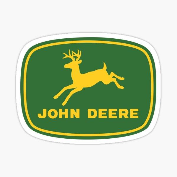 meilleur transport john deer premium Sticker