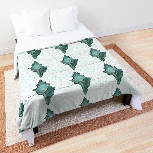 Ocean and Sea shells horse conch Comforter