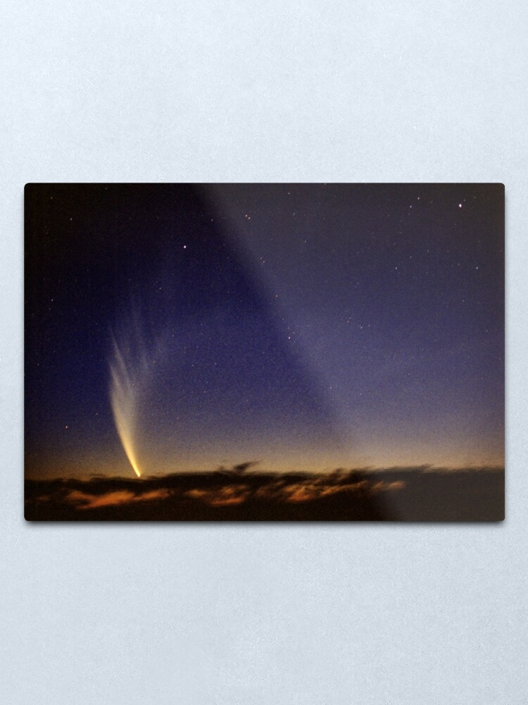 Alternate view of Comet McNaught Metal Print