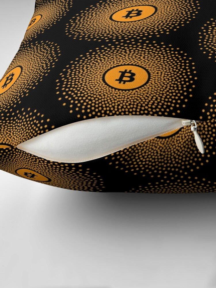 Alternate view of Bitcoin Burst Floor Pillow