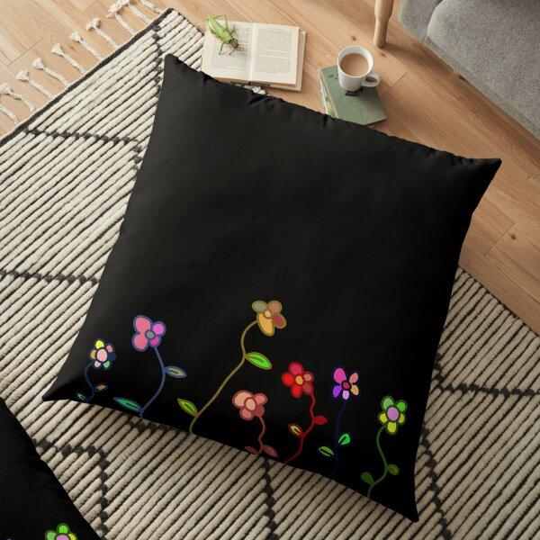Darling Daisy Floor Pillow