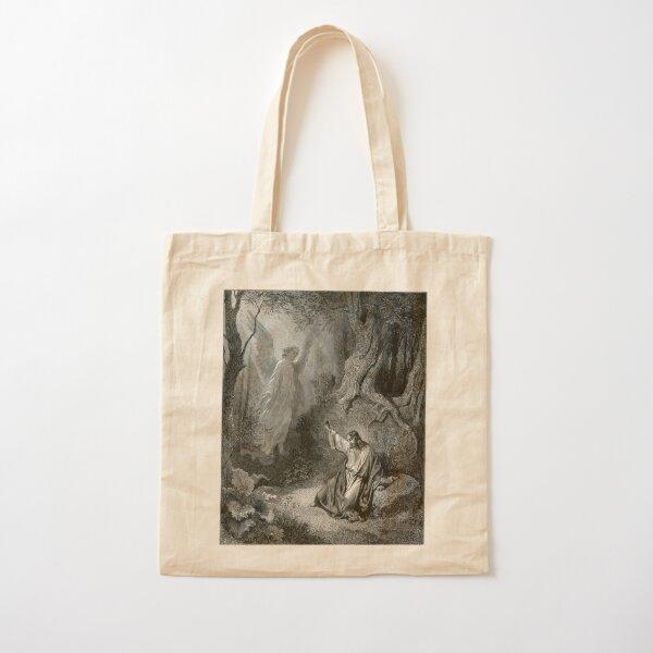 Old Bible Illustration Cotton Tote Bag