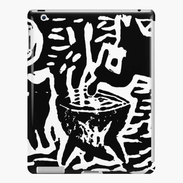 Devil with cat iPad Snap Case