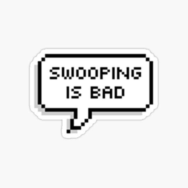 Swooping Sticker