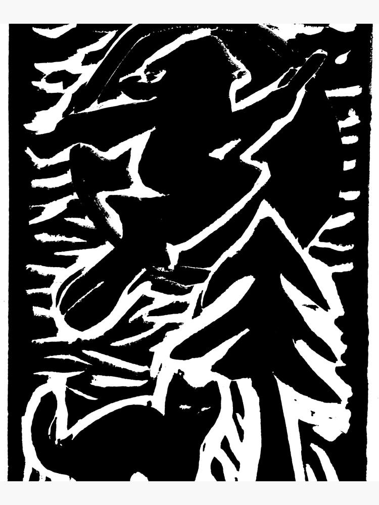 Hexe mit Katze von Gourmetkater