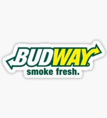 Pegatina Budway