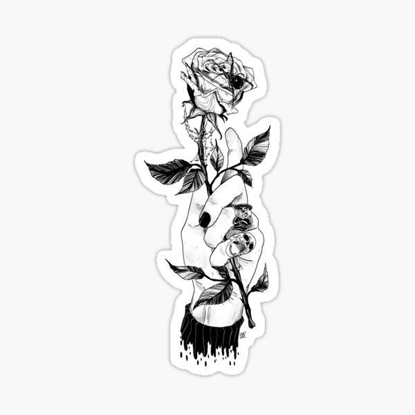 Corpse_Husband Design (ORIGINAL) Sticker