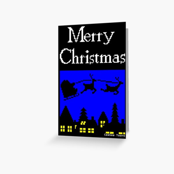 Teletext - The Night Before Christmas Greeting Card