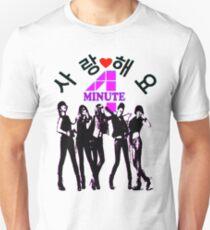 ♥♫SaRangHaeYo(Love) Hot Fabulous K-Pop Girl Group-4Minute Cool K-Pop Clothes & Phone/iPad/Laptop/MackBook Cases/Skins & Bags & Home Decor & Stationary♪♥ Unisex T-Shirt