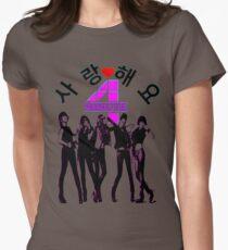 ♥♫SaRangHaeYo(Love) Hot Fabulous K-Pop Girl Group-4Minute Cool K-Pop Clothes & Phone/iPad/Laptop/MackBook Cases/Skins & Bags & Home Decor & Stationary♪♥ T-Shirt