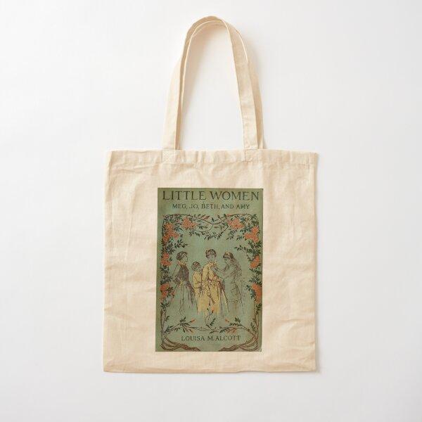 Mujercitas 1896 Portada del libro Bolsa de algodón