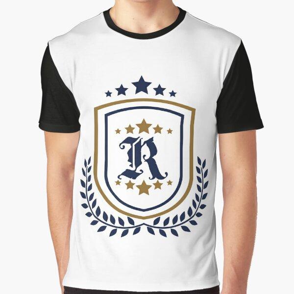 Eagle Raven Star Emblem Graphic T-Shirt