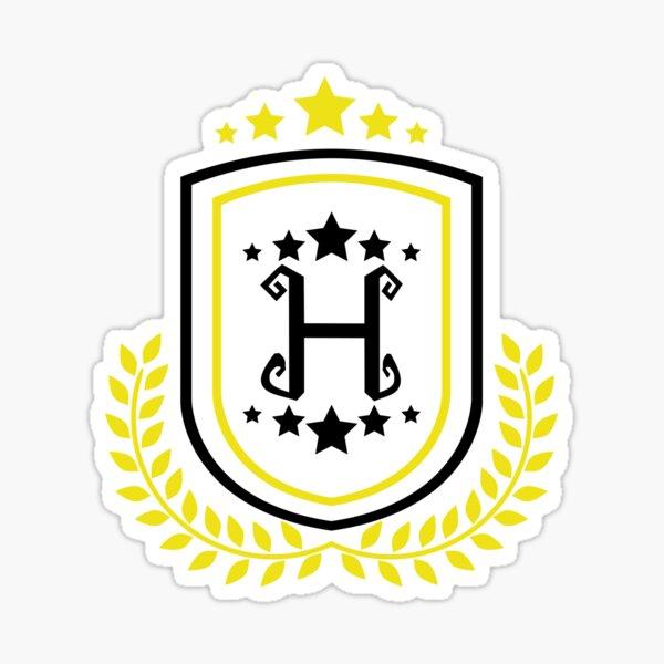 Huffle Badger Star Emblem Sticker