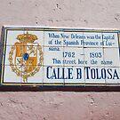Calle d Tolosa by Deborah Singer