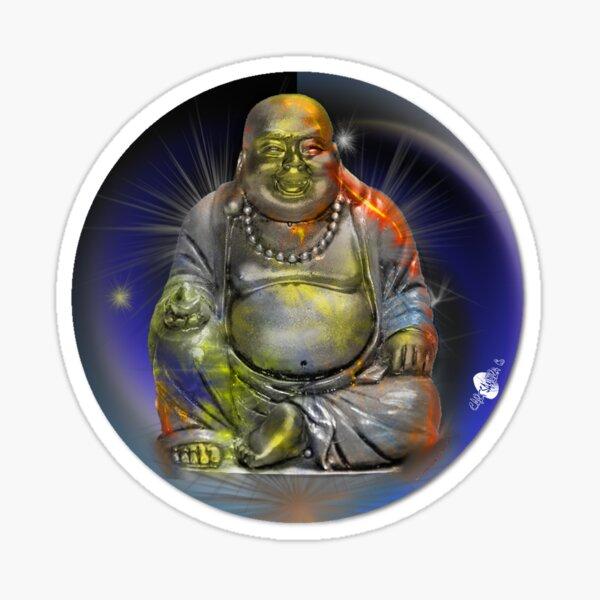 Little Laughing Buddha 1 Sticker